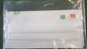 bustina contenente 2 mascherine