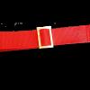 prolunga grembiule di colore rosso